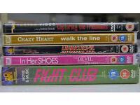 Brand new, unopened DVDs for sale (Fight Club, etc)