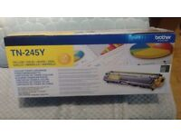 Brother colour toner cartridges x 3- Cyan/Magenta/Yellow TN-245. Genuine Brother. Brand new.