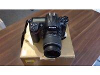 Nikon D300 12.3 MP Digital SLR Camera + 18-55mm lens Boxed.