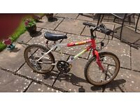 Boys bicycle age 5-7 years