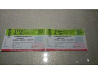 Two tickets for Russell Brand Re:Birth Birmingham