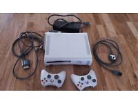Xbox 360 with games, guitars and microphones + accessories