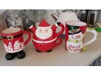 Xmas hot drinks set