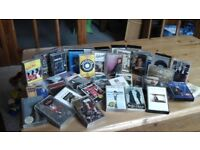 Various artists, music cassettes.