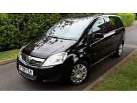 2008 VAUXHALL ZAFIRA 1.6 PETROL,7 SEATS,VERY LOW MILEAGE,ONE OWNER,GOOD COND.FULL SERVICE HISTORY