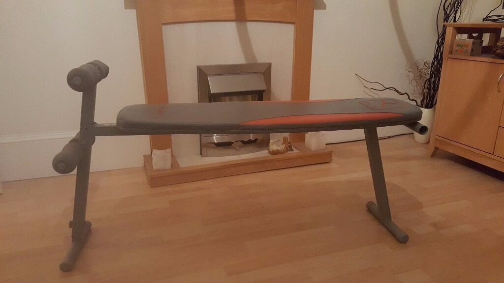 Weight BenchFoldable20in Thornliebank, GlasgowGumtree - Foldable weight bench. In good condition, can be used for free weights or with exercise cage