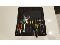 Hand tool set in leather case. Used, but in good condition. South London, Streatham SW16