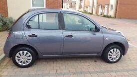 Nissan micra visia 5dr 2009 petrol 1.2
