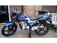 Lexmoto Arrow 125cc Motorcycle - Full Mot