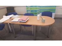 Small meeting room table