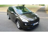 2010 PEUGEOT 3008 1.6 VTI SPORT 120 MOT MAR 2019 SERVICE HISTORY 2 KEEPERS DRIVES BRILLIANT PX WELC