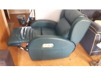 Leather recliner armchair (NOW REDUCED TO CLEAR)