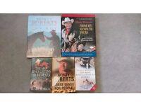 Monty Roberts books x 5