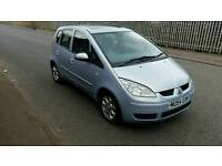 2004 / 54 Mitsubishi Colt Equippe  1.1 5dr in Blue. 12 Month MOT. . punto fiesta clio jazz astra
