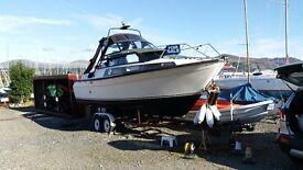 Fjord 26 AC Motor Boat Sports Boat Power Boat Cabin Cruiser