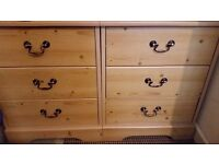 2 matching bedside cabinets very good condition