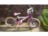 Girls bike age 5+