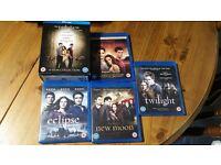 Twilight Saga Complete Blu-Ray Collection Like New