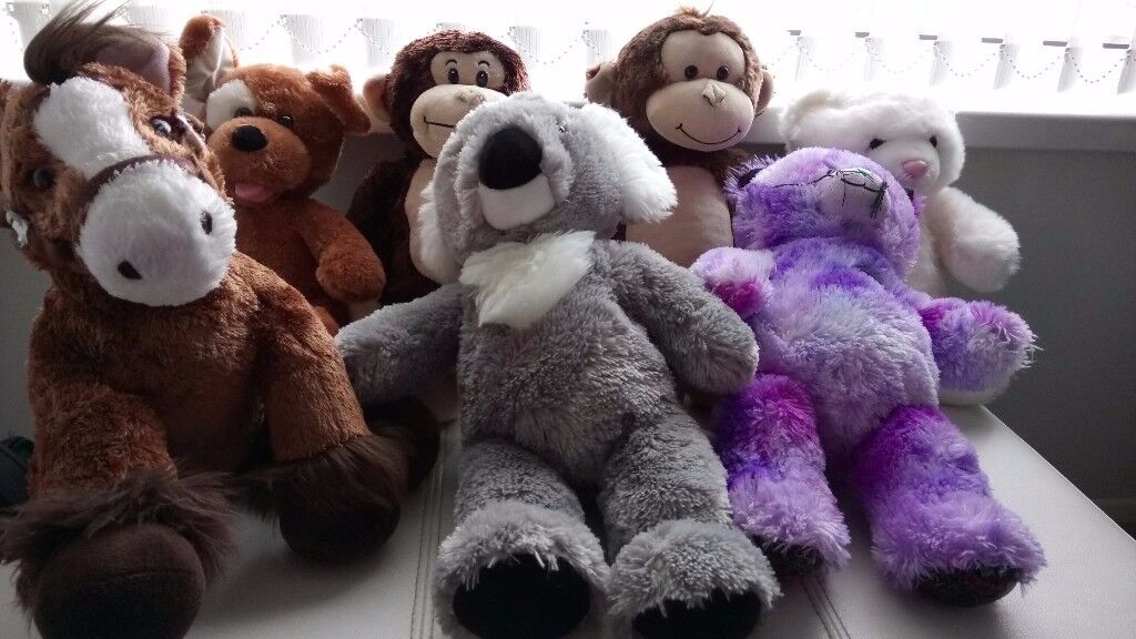 Build A Bear Soft Toy Collection