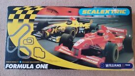 Williams formula one team scalextric