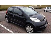 Stunning Peugeot 107 in metallic black with FSH and low mileage! A must see!!!