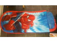 Spiderman ready bed