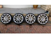 Alloy Wheels x 4, 19inch in great condition, Suite VW/Audi Group Cars