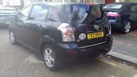 A 7 seater corolla verso.in perfect condition .with dealer service history. .
