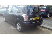 A 2007 model 7 seater corolla verso.in perfect condition .with dealer service history. .