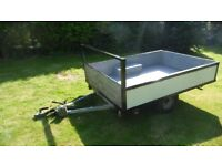 Car Trailer 7 x 5 in good order camping boot sales garden clearing ect Grimsby look