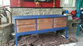 Up cycled dresser table