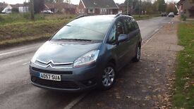 For sale in very good condition citroen C4 grand Picasso 2007