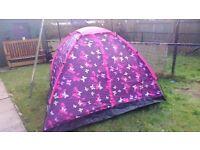 3 man festival butterfly tent