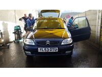 58000 mls Saxo 1.1 2004 low mileage Citroen Power steering Electric windows Cd player