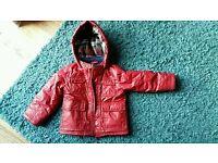 Vgc boy's winter coat, age 2-3 years