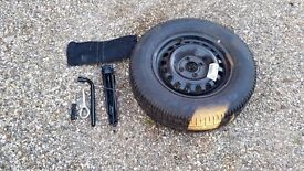 Vauxall Corsa Spare Wheel and Jack