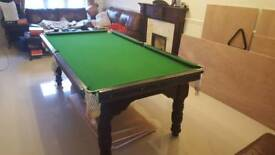 English Pool Table for Sale 7ft by 4ft