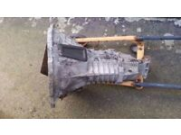 GEARBOX , FORD TRANSIT , 2 LITRE PETROL ,