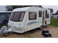 Touring caravan elddis firestorm 505 2005 5 berth