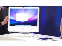"""1.83Ghz 17"""" APPLE White iMac Desktop Computer 2GB 160GB Logic Pro 9 Adobe CS6 Ableton Final Cut Pro"""