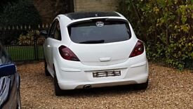 2012 Vauxhall Corsa D 1.3 **LIMITED WHITE EDITION** Spares or Repairs Non Runner Export