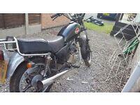 Moto roma virage 125cc
