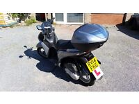 Low Mileage. 2177 miles. Honda SH125i ABS Scooter.