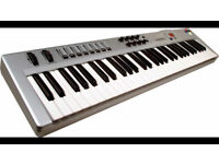 midi controller Keyboard M AUDIO radium 49
