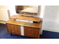 Dressing table retro about 1960