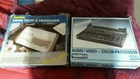 Camlink and vivanco old video editing processors