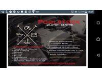 Poolstock clutch centre
