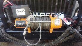 rhino 13500Lb winch 24v