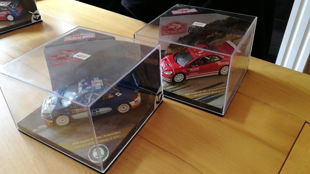 1 43 Peugeot Rally car models