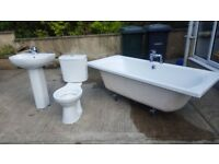 Complete Bathroom Suite With Large Bath